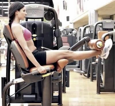 Extensions for quadriceps.