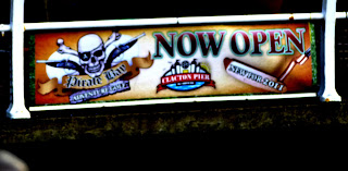 Banner for Pirate Bay Adventure Golf on Clacton Pier