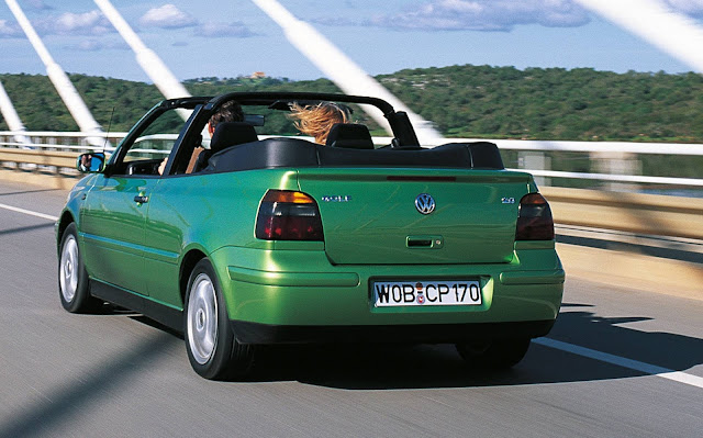 VW Golf Cabriolet Mk3
