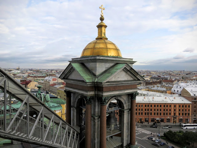 Why visit St. Petersburg Russia: Views of St. Petersburg from St. Isaac's Cathedral