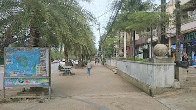 laluan pejalan kaki di Ao Nang