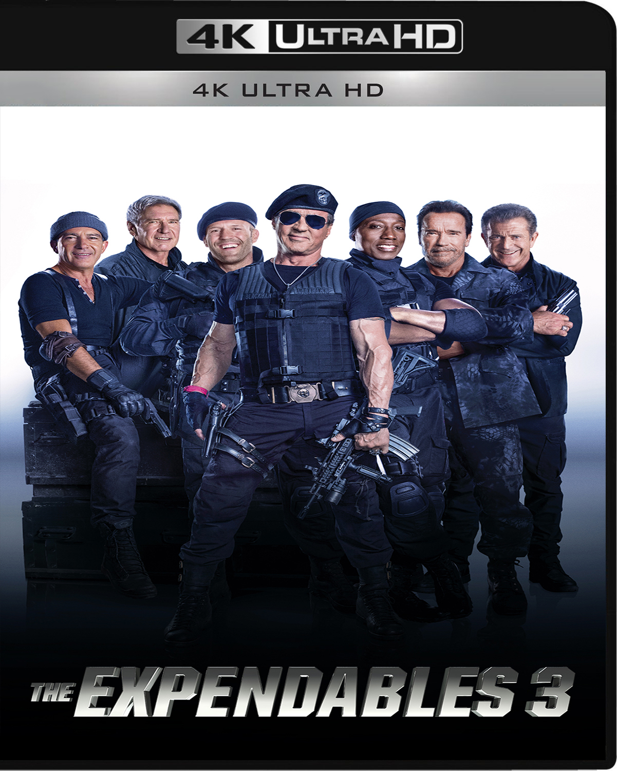 The Expendables 3 [2014] [UHD] [2160p] [Latino]