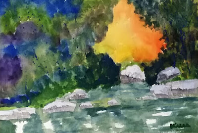 Rivery Park Watercolor - JKeese