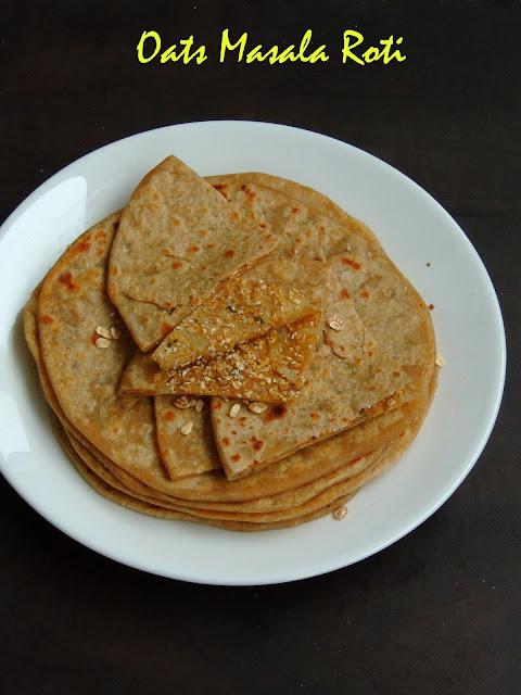 Oats Masala Roti