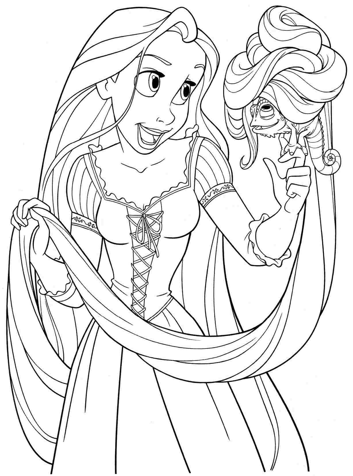 best disney all princess coloring pages library free