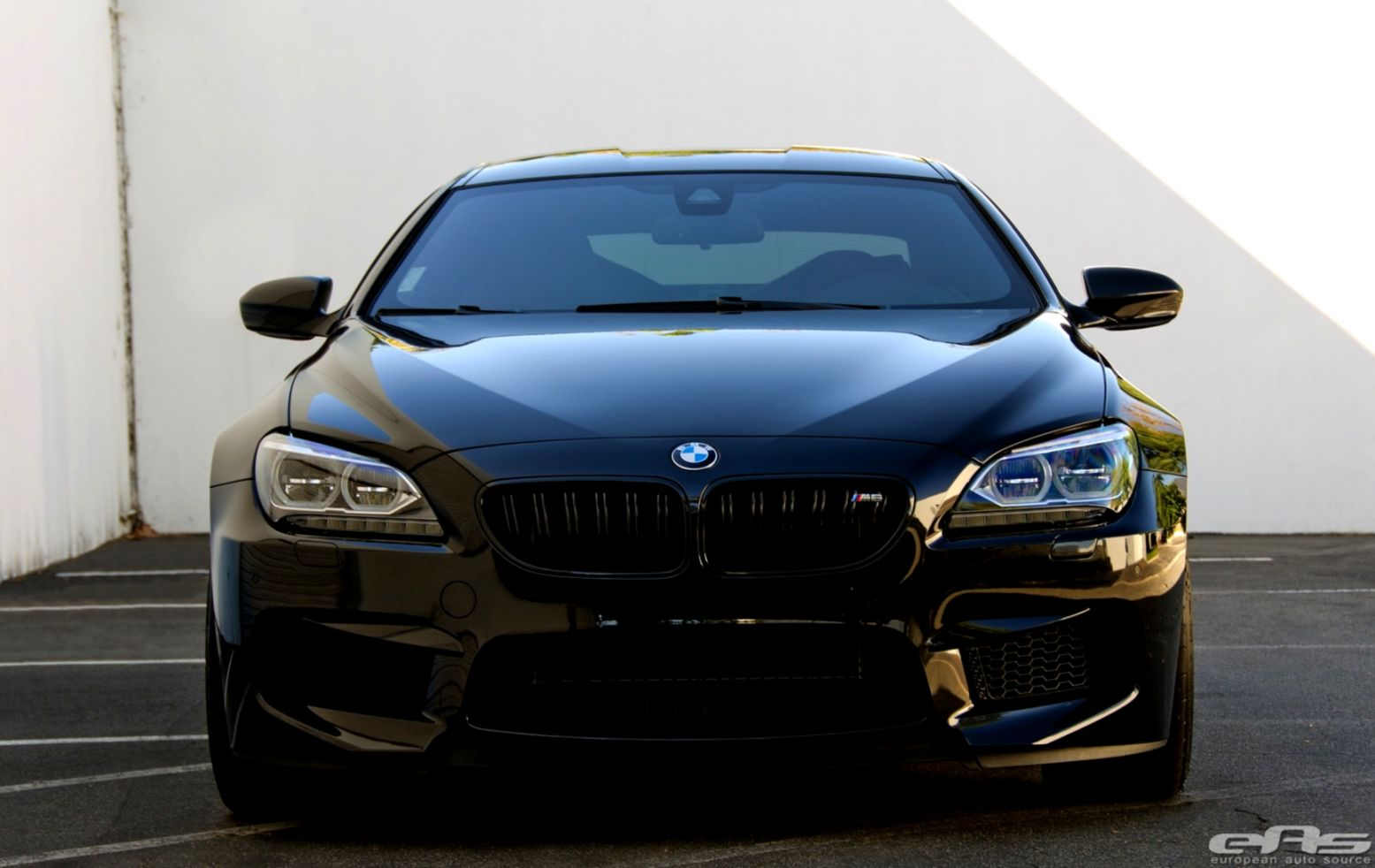 Bmw M6 Coupe F13 Black Tuning Car Rear Hd Wallpaper ...