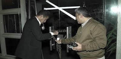 حملة إشغالات على المقاهى المخاالفة بمصر الجديدة