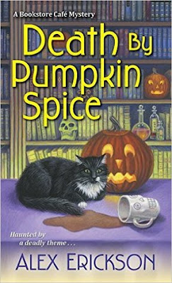 Bea's Book Nook, Review, Death by Pumpkin Spice, Alex Erickson