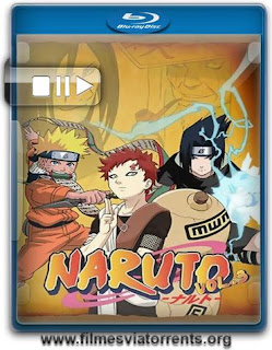 Naruto 3ª Temporada Torrent - BluRay Rip