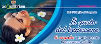 Logo Con AIA '' Il gusto del benessere'' ti premia con trattamenti benessere da 25 € : premio sicuro !