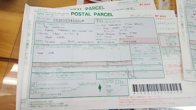 Cara kirim Barang dari Jepang ke Indonesia