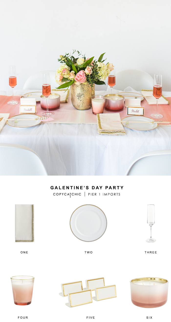 copy cat chic galentine 39 s day party. Black Bedroom Furniture Sets. Home Design Ideas