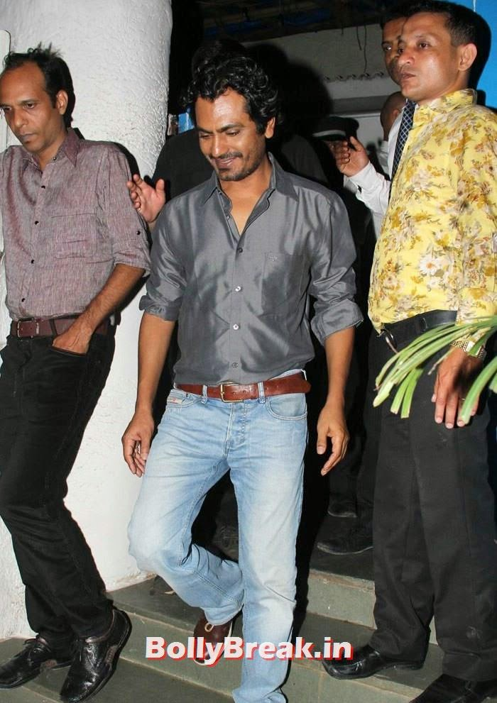 Nawazuddin Siddiqui, Varun, Yami, Shruti, Nargis Pics from Badlapur Movie Wrap up party