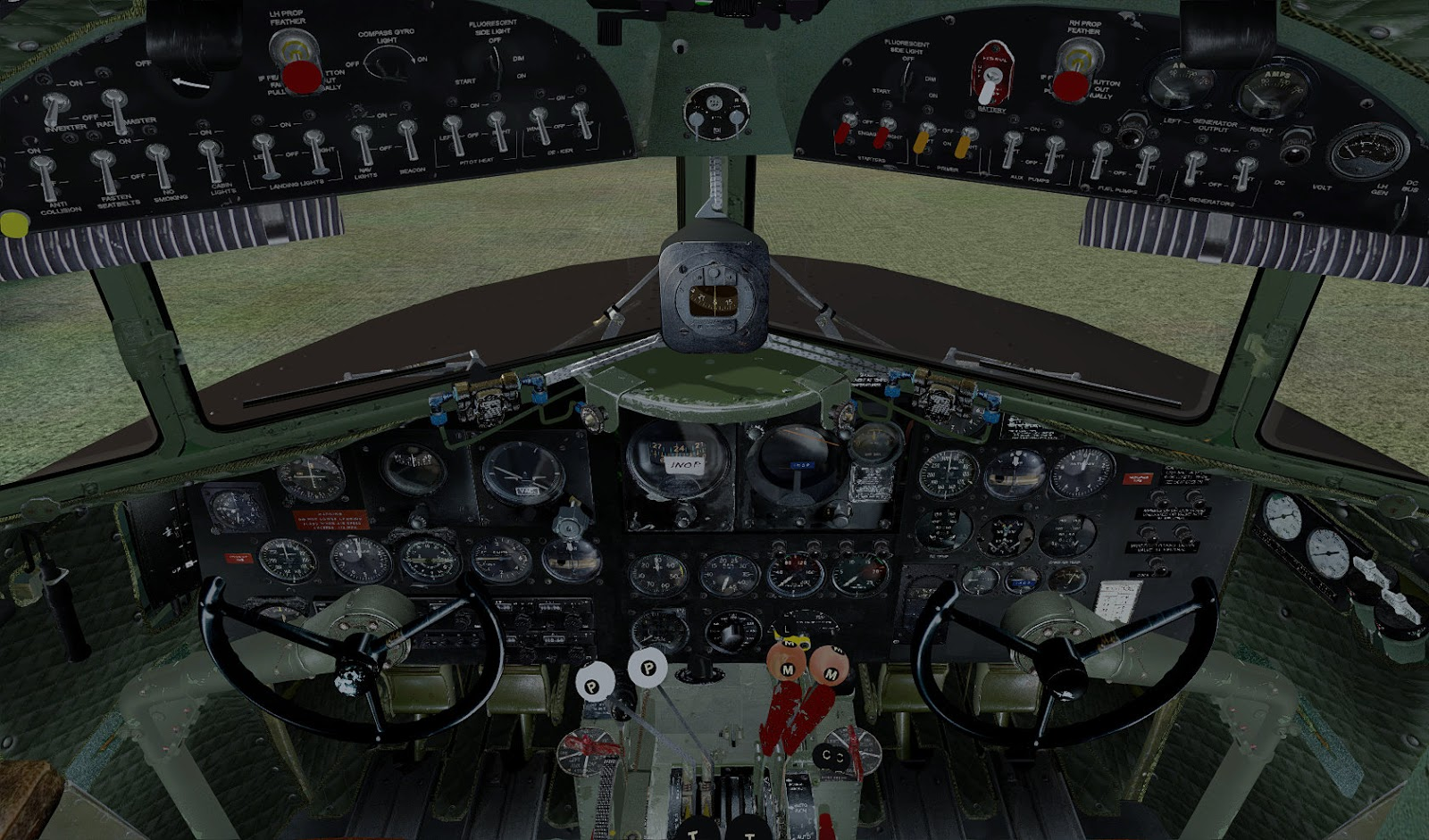 South West Flight Simulation: When Classic Art is Just Wright