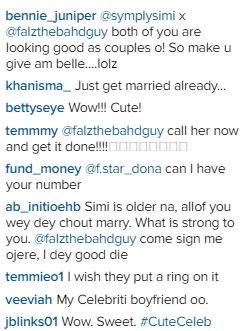 3 This adorable picture of  Falz and Simi got fans  talking
