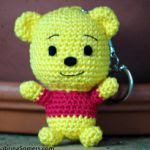 patron gratis oso winnie the pooh amigurumi | pattern free winnie the pooh bear amigurumi