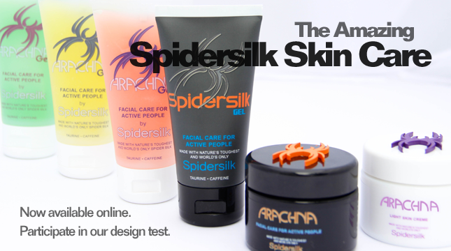 Spidersilk Skin Care