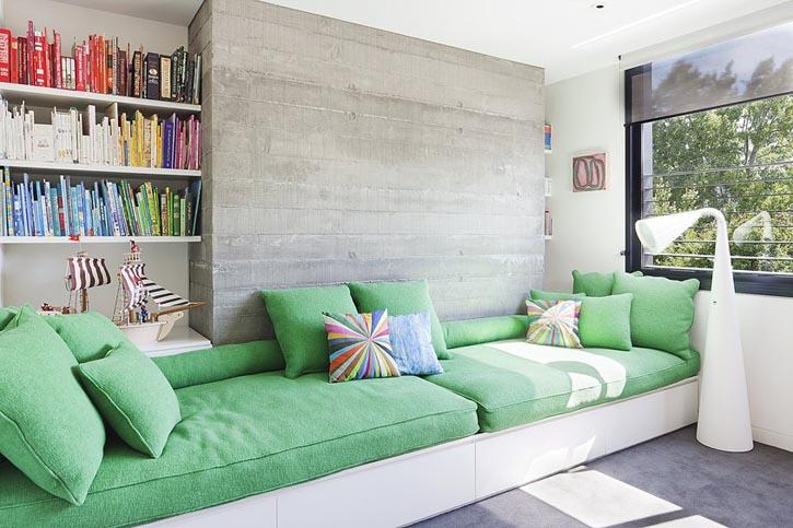 Hiasan Ruang Tamu Tanpa Sofa