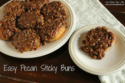 Easy Pecan Sticky Buns - Mother's Day, Spring Brunch with #Celebrate365