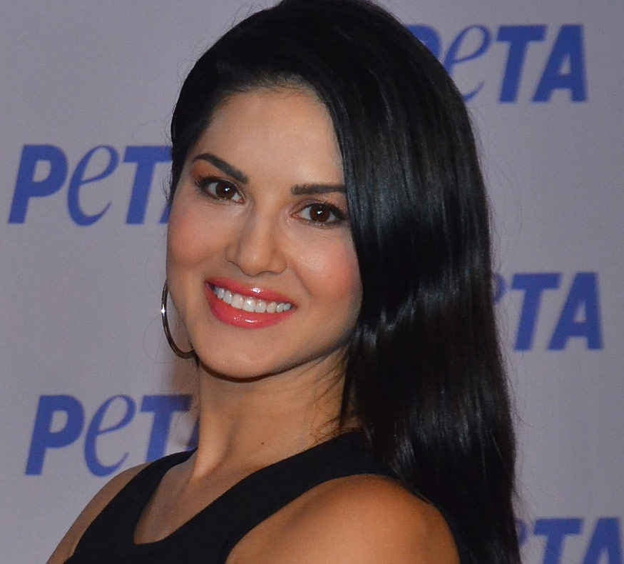 Sunny Leone Graces The PETA 'Spice Up Your Life! Go Vegetarian' Campaign
