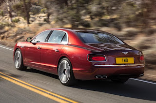 Bentley Flying Spur V8 S (2016) Rear Side