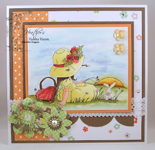 Sunset Rose Card Kit
