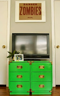 File Cabinet TV Stand