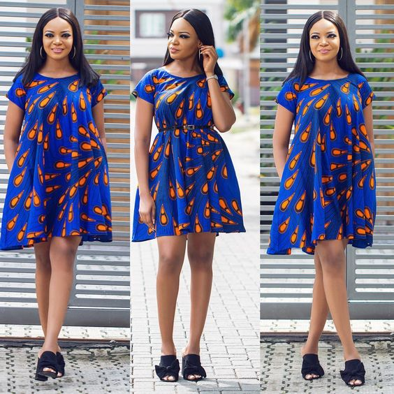 20 Ankara Short Gowns For Ladies (2018)