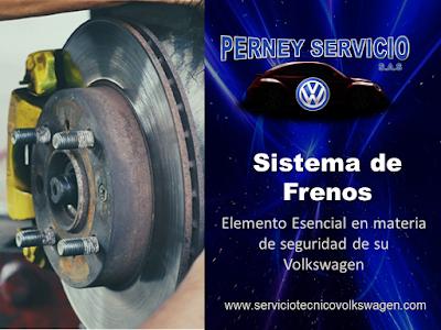 Mantenimiento de Frenos Volkswagen en Bogota