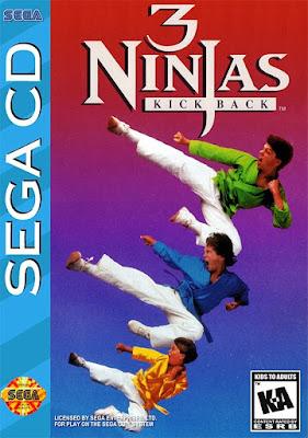 Review - 3 Ninjas Kick Back - SEGA CD