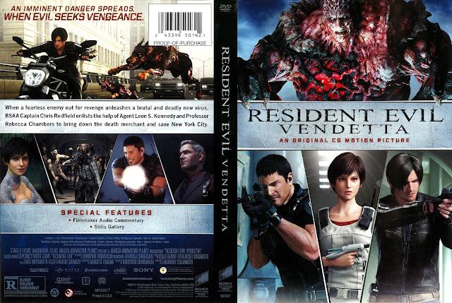 Resident Evil Vendetta DVD Cover