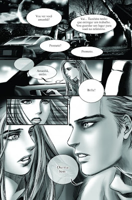 """Resenha: """"Crepusculo - Graphic Novel volume 1"""" (Young Kim) 16"""
