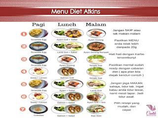 diet atkins fasa 1