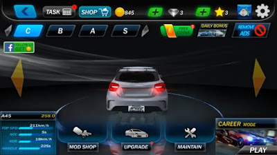 Street Racing 3DMod Apk  v1.1.1 Terbaru Unlimited Gold Full Hack Gratis