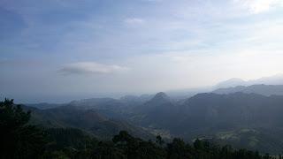 Vista de las montañas asturianas