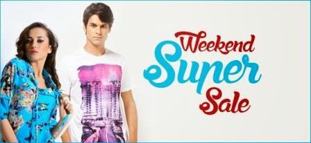 Snapdeal Weekend Super Sale 2015