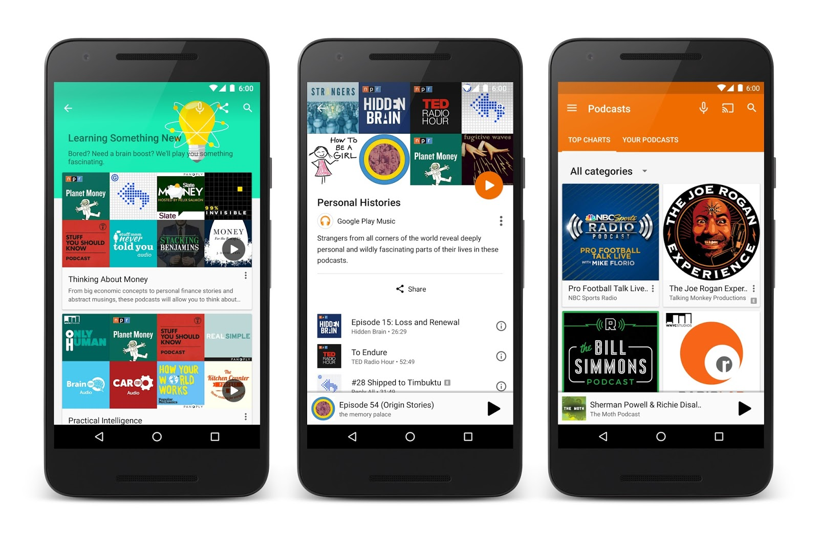 Google Adds Podcasts To Play Music Service
