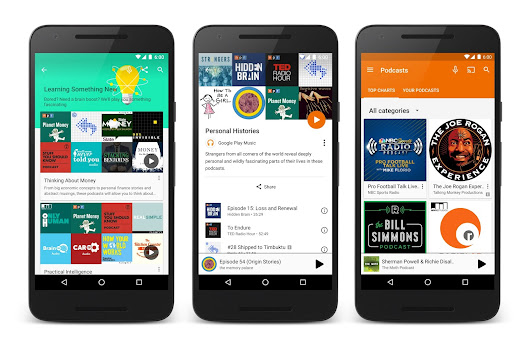 Official Google Blog: Welcome to Google Play Music, the podcast episode