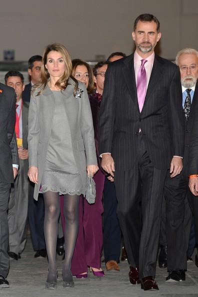 Crown Prince Felipe and Crown Princess Letizia