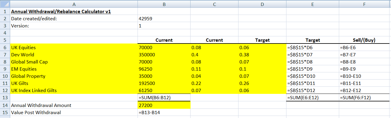 retirement investment calculator excel