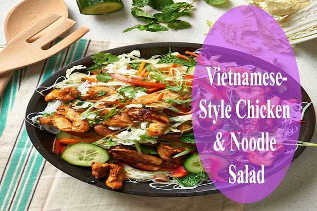 Vietnamese-Style Chicken & Noodle Salad