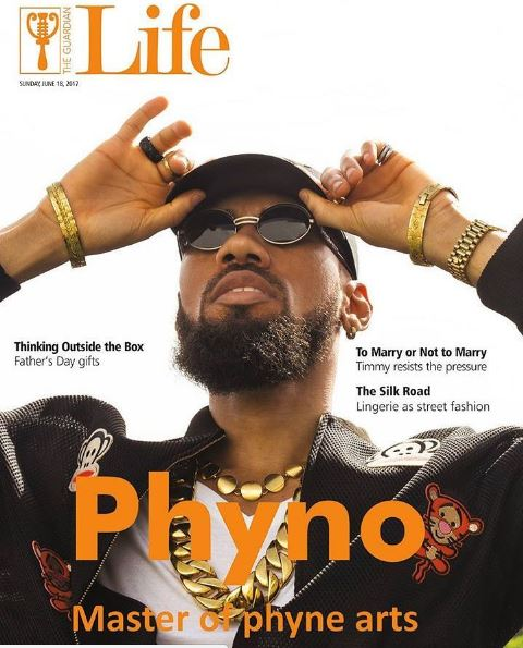 Phyno Covers Guardian Life Magazine's Latest Issue