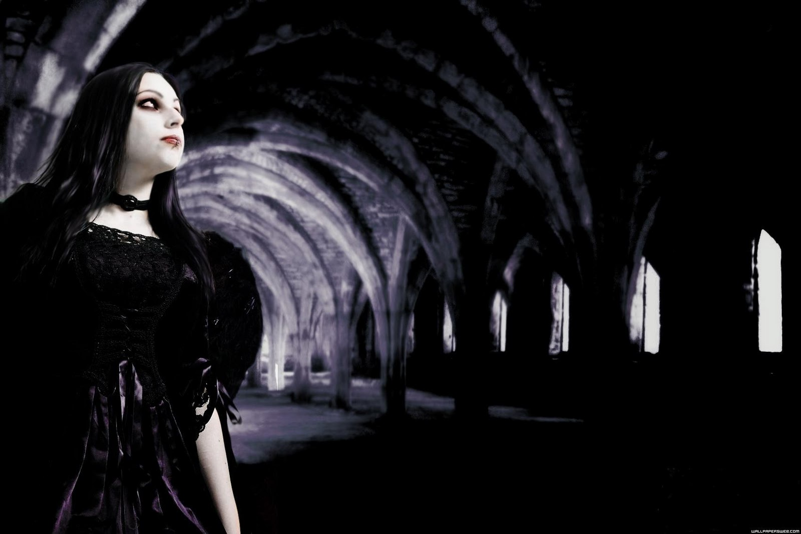 gothic girls wallpaper by - photo #33