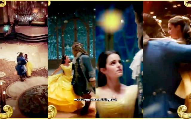 New Snippets Of Emma Watson And Dan Stevens Dancing In Beauty The Beast
