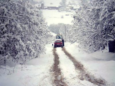 kijevo pod snegom