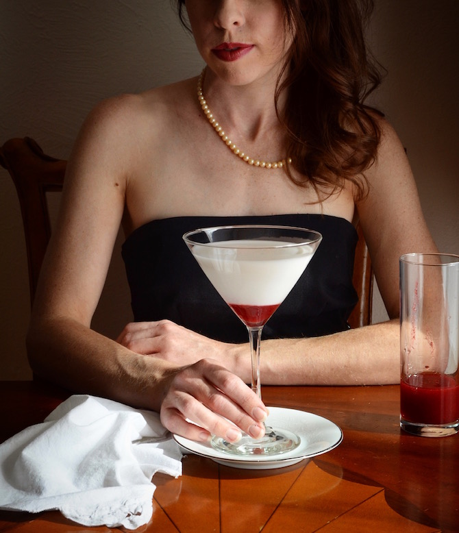 Rebecca Sherrow - Liquefied Ghost Cocktail Recipe