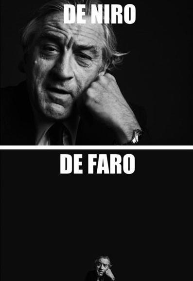 Funny Celebrity Pun Pictures - De Niro De Faro