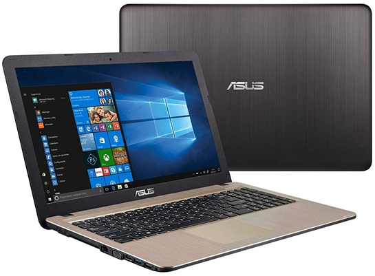ASUS K540UA-GQ676T: panel HD de 15.6'' + disco duro SSD de 256 GB