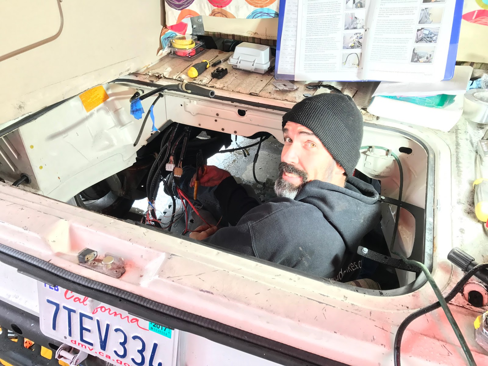 Vanagon Geek Subaru Conversion Complete Mostly Wiring Harness Figuring Out The