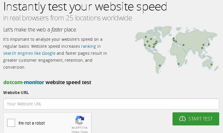 Dotcom-Tools Untuk Memeriksa Kecepatan dan Kinerja Blog